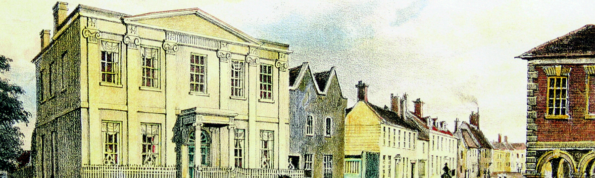 The Square House, on Corner of Wick Lane and High Street, Christchurch, Dorset -  1776 to 1958