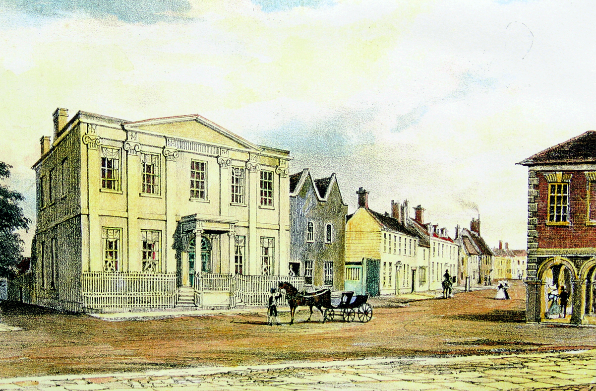 The Square House, Christchurch High Street, Dorset