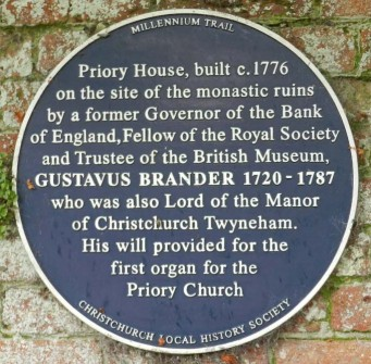 Priory House built by Gustavus Brander | CHS Archive