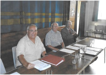 Chairman, Past Chairman, President at a recent AGM | T Palmer
