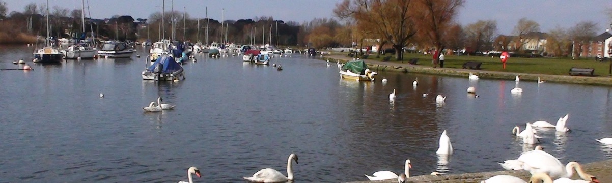 Quay on River Stour at Christchurch, Dorset