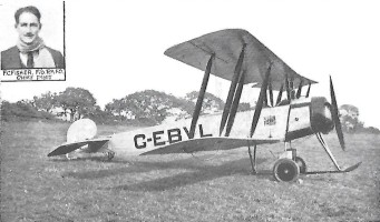 110 HP Avro 504K Aircraft operated by Fisher Aviation Company | CHS Archive