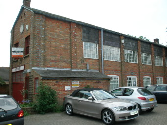 Side Elevation in 2010 of William Hart's Fusee Factory, Christchurch, Dorset | Wikipedia