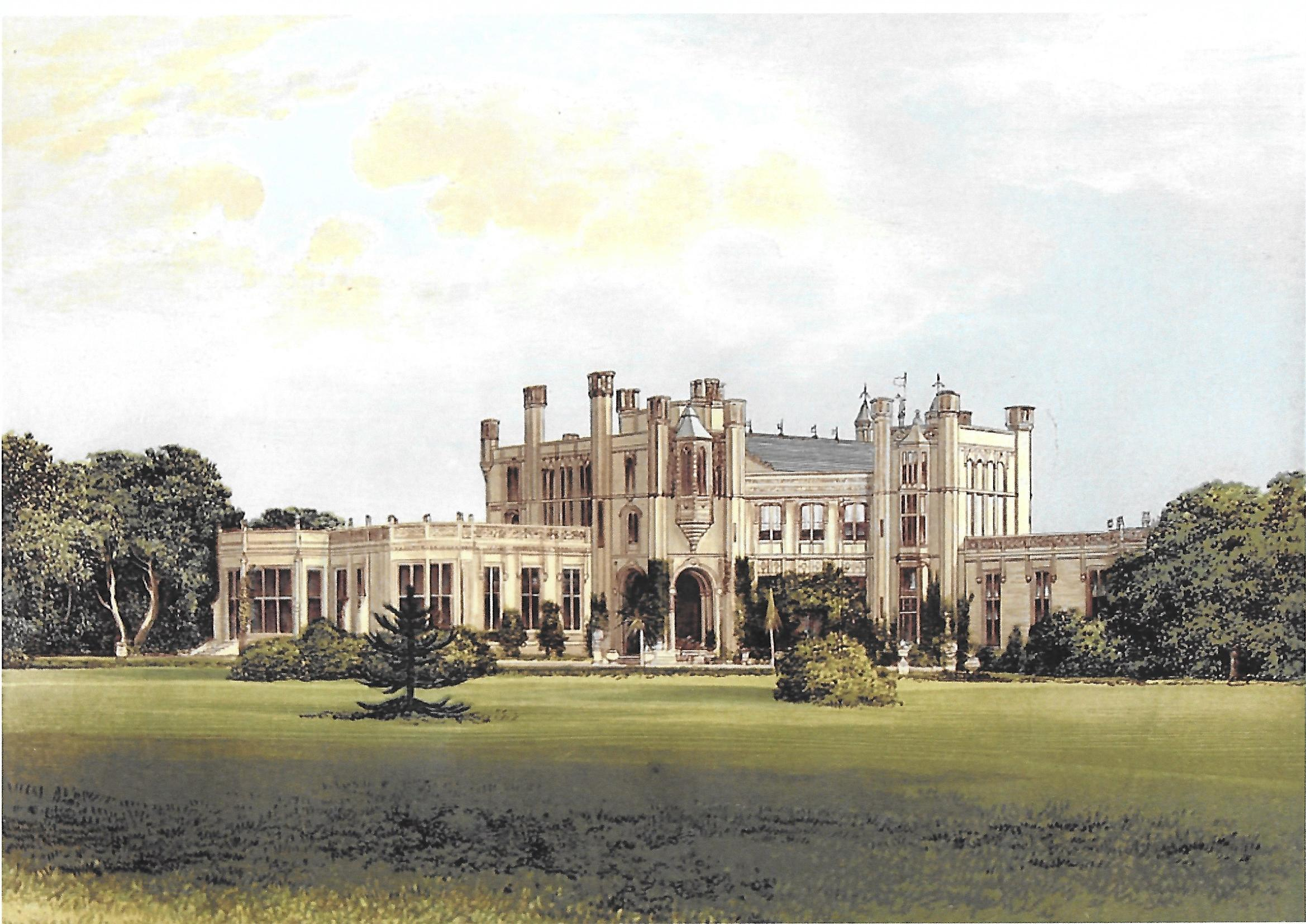highcliffe castle history christchurch history society
