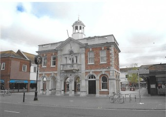 Market Hall built in 1746 in the Market Square but moved to Blanchard's Yard in the High Street in 1859