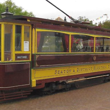 Bournemouth Open Top Car 106. Rebuilt at Seaton & District Electric Tramway Company | Seaton & District Electric Tramway Company