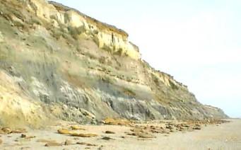 Cliffs at Hengistbury Head, Christchurch, Dorset | Google Earth