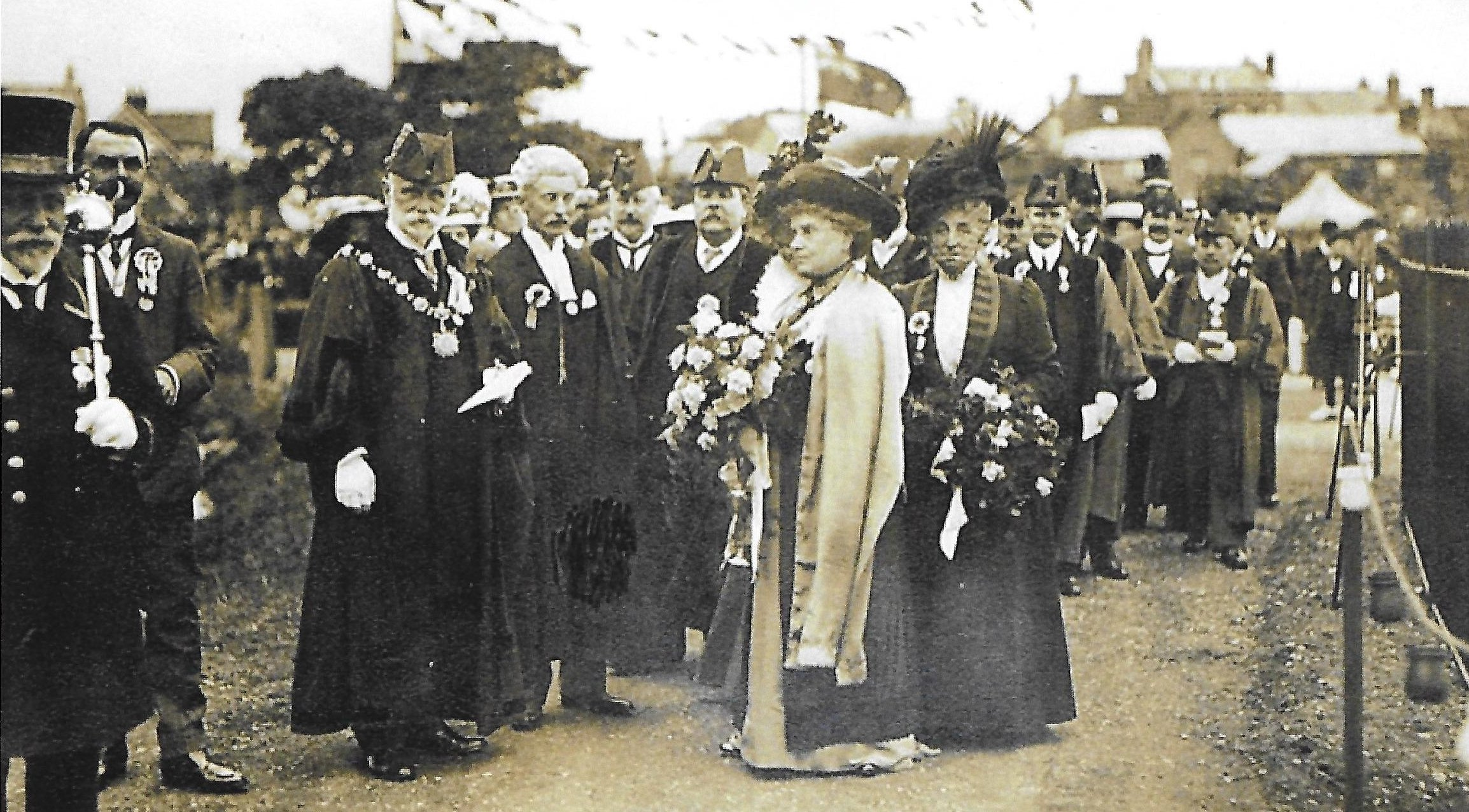 Mayor and Mayoress of Christchurch on Coronation Day 1911