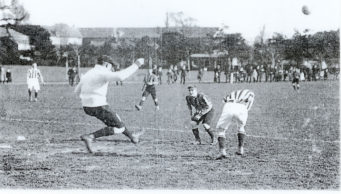 The Christchurch Football Team in Play