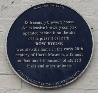 Bow House Plaque
