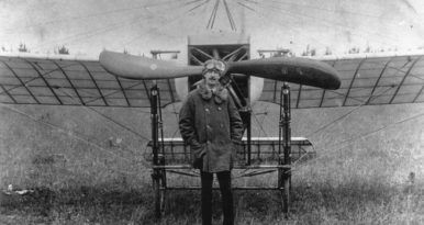 Pioneer Pilot Dropped In On Highcliffe
