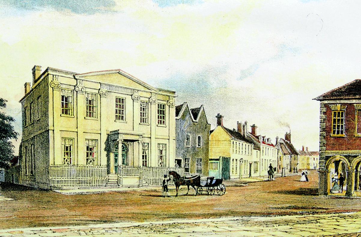 The Square House, Christchurch High Street, Dorset