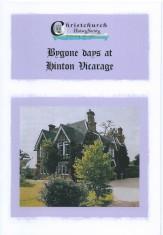 Bygone Days at Hinton Vicarage