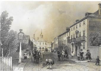 Castle Street Christchurch, Dorset 1855