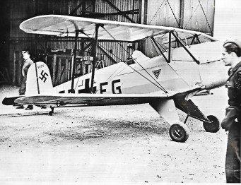 Geman Bucker Aircraft | CHS Archive