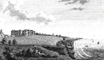 High Cliff, Christchurch, Dorset, the seat of the Earl of Bute