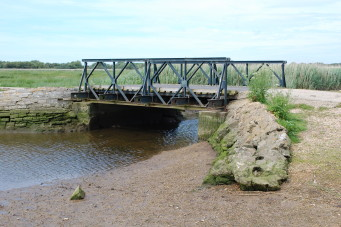 Bailey Bridge. Location shown is Stanpit Marsh, Christchurch, Dorset | CHS Archive