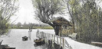 Wick Ferry, River Stour, Christchurch, Dorset