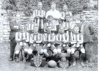 Christchurch Football Club Trophies 1910 to 1911