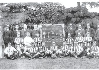 Christchurch Football Team 1911 to 1912