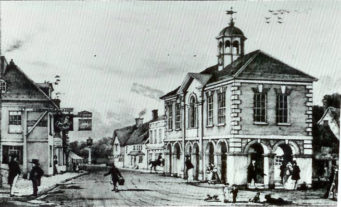 The Town Hall in 1855