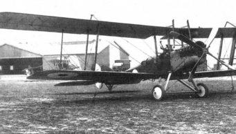A Royal Aircraft Factory BE2