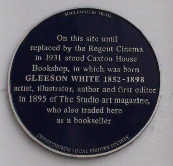 The Regent Centre Plaque